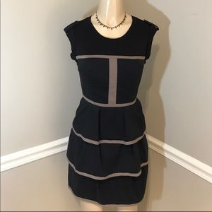 BCBG Maxazria Lined Structured Dress